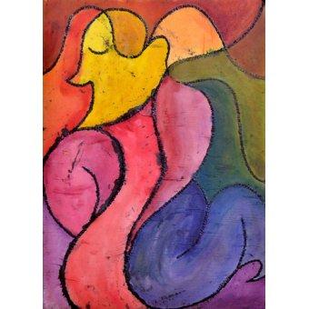 pinturas de retratos - Quadro -All My Loving- - Pontes, Guilherme