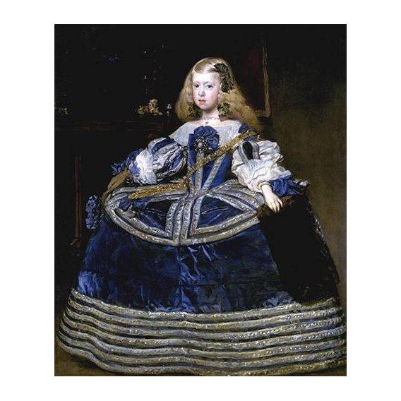 cuadros de retrato - Cuadro -Retrato de la Infanta Margarita, a la edad de ocho anios-