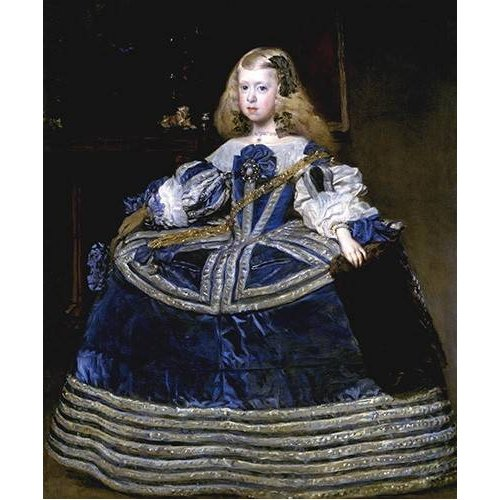 Cuadro -Retrato de la Infanta Margarita, a la edad de ocho anios-