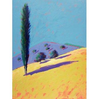 - Quadro - Golden Valley (acrylic on card)- - Powis, Paul