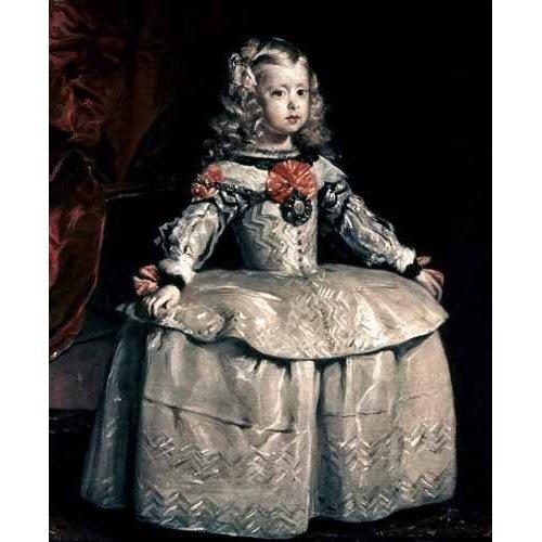 Quadro -Retrato de la Infanta Margarita a la edad de cinco años-