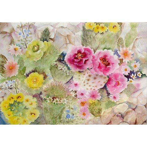 Quadro - Blooming Cacti-