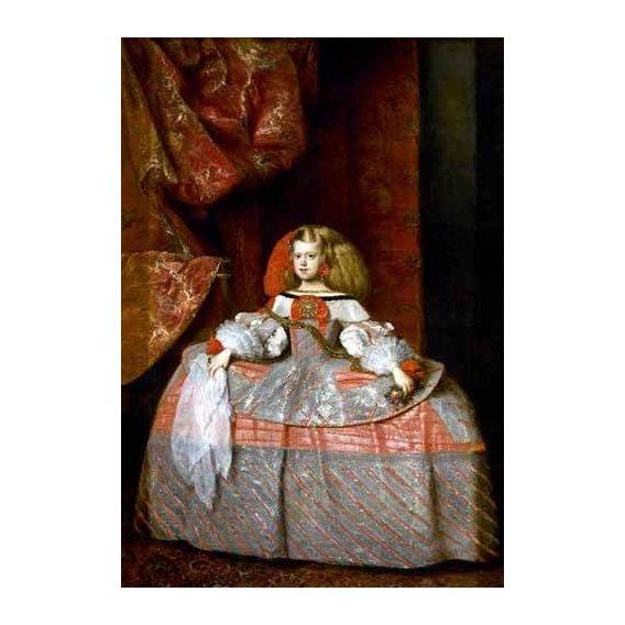 cuadros de retrato - Cuadro -Retrato de la Infanta doña Margarita de Austria-