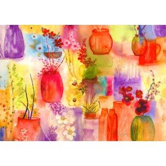 quadros de flores - Quadro - ala Ikebana- - Pushparaj, Neela