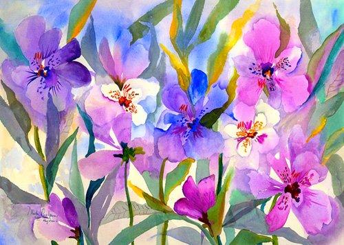 quadros-para-hall - Quadro - Iris Fields- - Pushparaj, Neela