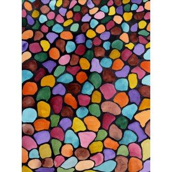 Quadros abstratos - Quadro - Kwanza- - Pushparaj, Neela
