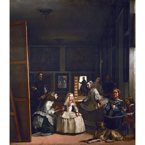 Quadro -Las meninas, familia de Felipe IV-