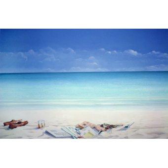 quadros de paisagens marinhas - Quadro -Beach Broker- - Seligman, Lincoln