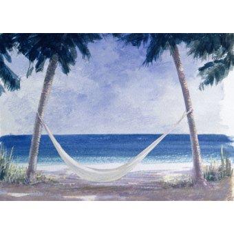 quadros de paisagens marinhas - Quadro -Hammock, 2005- - Seligman, Lincoln