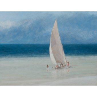 quadros de paisagens marinhas - Quadro  -Fishermen, Kilifi, 2012- - Seligman, Lincoln