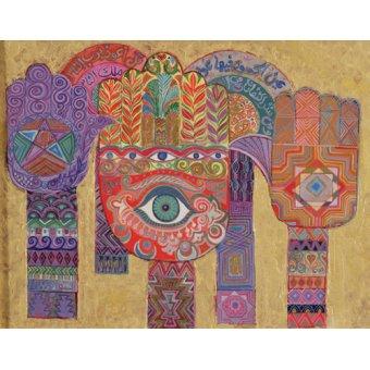 - Quadro -Protective Amulets, 1992- - Shawa, Laila