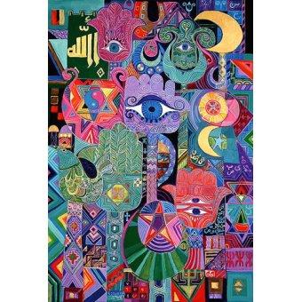 - Quadro -Magical Symbols, 1992- - Shawa, Laila