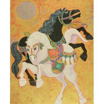 - Quadro -Antar and Abla, 1989- - Shawa, Laila