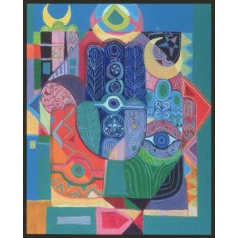 - Quadro -Hands as Amulets I, 1992- - Shawa, Laila
