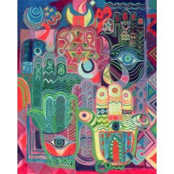 - Quadro -Hands as Amulets II, 1992- - Shawa, Laila