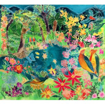 quadros de paisagens marinhas - Quadro - Caribbean Jungle, 1993- - Simon, Hilary
