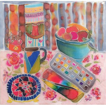Quadros para sala de jantar - Quadro - Artist's Paintbox, 2006- - Simon, Hilary