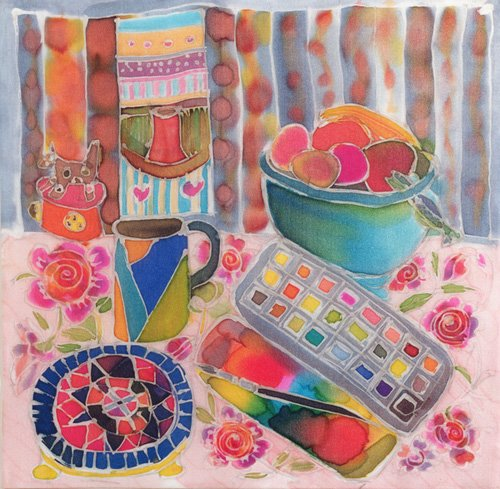 quadros-para-sala - Quadro - Artist's Paintbox, 2006- - Simon, Hilary