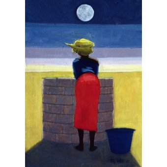 - Quadro - Moonlit Evening, 2001 (oil on canvas) - - Willis, Tilly
