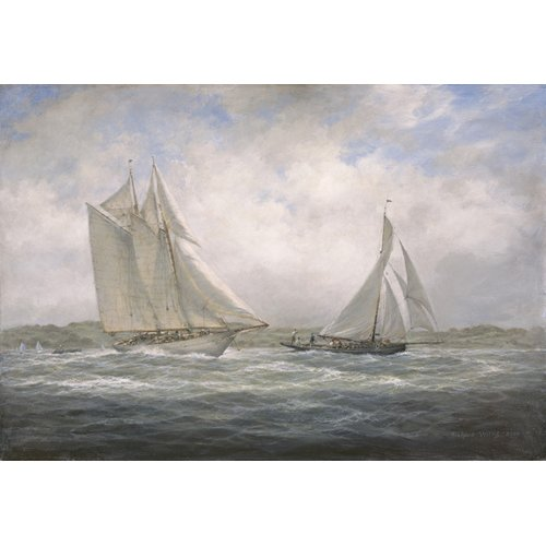Quadro - Two Classics. 'Aello Beta' and 'Marigold' off the Isle of Wight, 2005 -