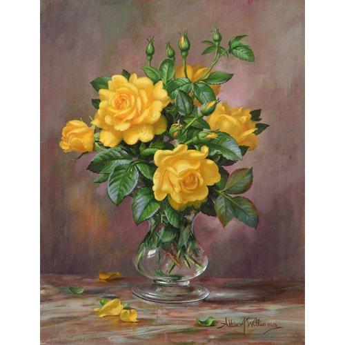 Quadro - AB.303 Radiant Yellow Roses -