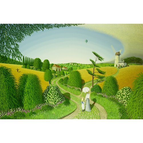 Quadro - Going Home, 1989 (oil on canvas) -