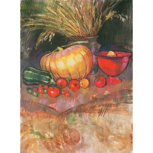 Quadro - Harvest (pastel on paper) -