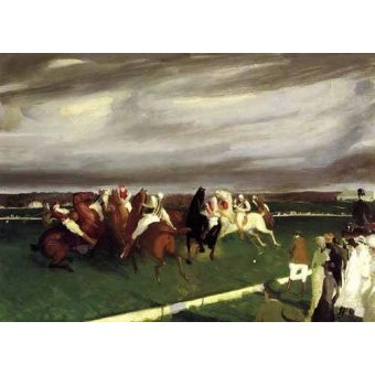 animals - Picture -Polo at Lakewood- - Bellows, George