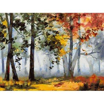 quadros de paisagens - Quadro -Moderno CFM14274- - Medeiros, Celito