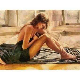 quadros nu artistico - Quadro -Moderno CFM13535- - Medeiros, Celito