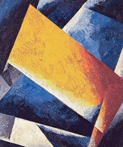 quadros-abstratos - Quadro -Architectonic composition- - Popova, Lyubov Sergevna