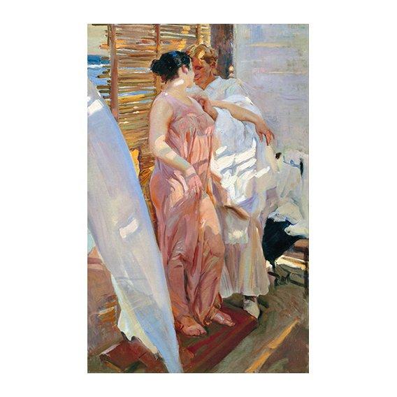 Quadro -Despues del baño, 1916 -