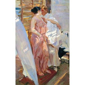- Quadro -Despues del baño, 1916 - - Sorolla, Joaquin