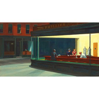 - Quadro -Nighthawks, 1942 - - Hopper, Edward