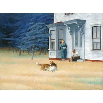 Quadros modernos - Quadro -Cape Cod Evening, 1939- - Hopper, Edward