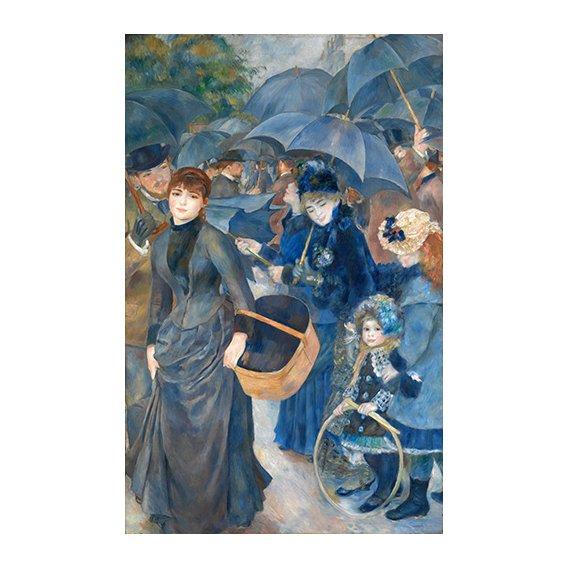 Quadro -Los paraguas, (1881-86)-