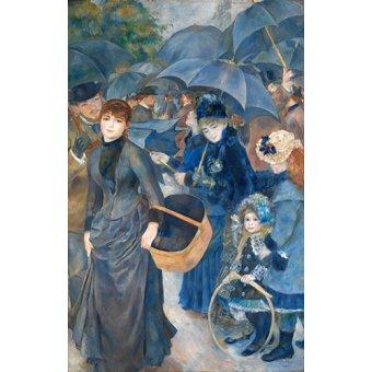 - Quadro -Los paraguas, (1881-86)- - Renoir, Pierre Auguste