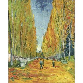 - Quadro -Explanada de Alycamps- - Van Gogh, Vincent