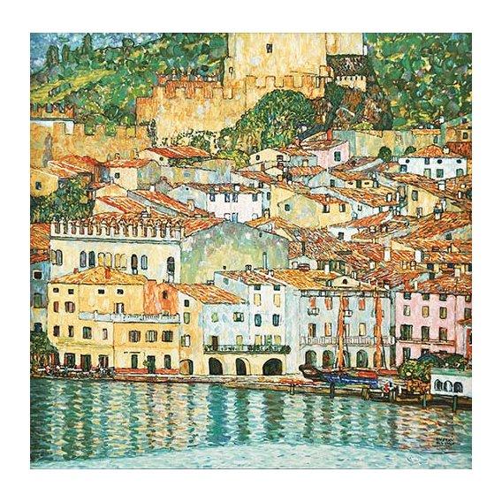 Quadro -Malcesine on Lake Garda-