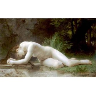 quadros nu artistico - Quadro -Biblis- - Bouguereau, William