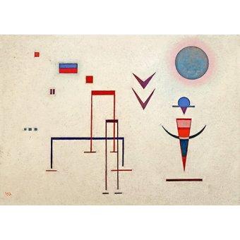 Quadros para quarto - Quadro - Barulhos de brincadeira, 1929 - - Kandinsky, Wassily
