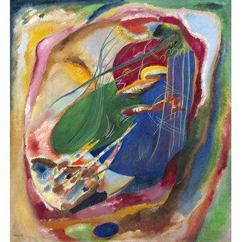 Quadros para quarto - Quadro - Imagem com três manchas, nº196, 1914 - - Kandinsky, Wassily