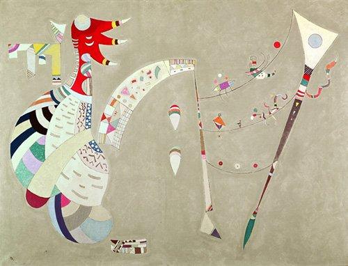 quadros-abstratos - Quadro - Balanced, 1942 - - Kandinsky, Wassily
