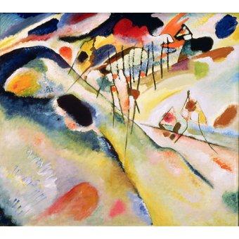 - Quadro - Landscape, 1913 - - Kandinsky, Wassily
