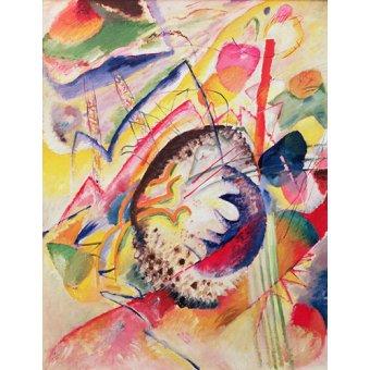 - Quadro - Large Study, 1914 - - Kandinsky, Wassily