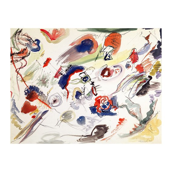 Quadro - Untitled - First Abstraction, 1910 -