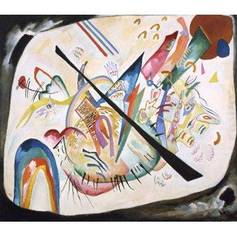 - Quadro - White oval, 1919 - - Kandinsky, Wassily