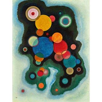 Quadros para quarto - Quadro - Impulso profundo, 1928 - - Kandinsky, Wassily