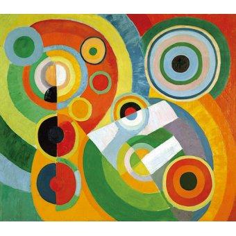 - Quadro - Ritmo, alegria de viver, 1930 - - Delaunay, Robert