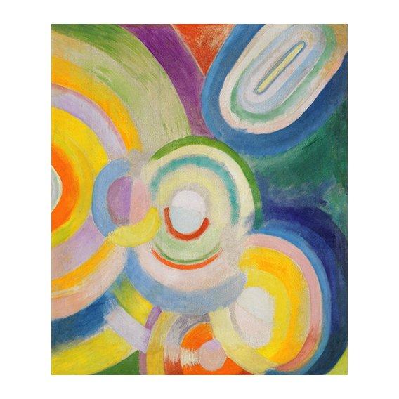 Quadro - Disques colorés -